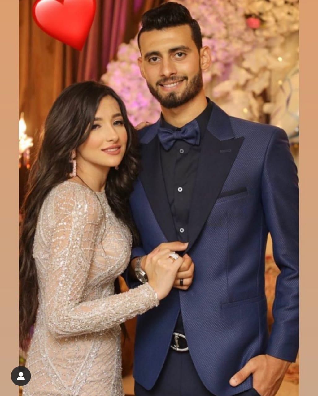 باهر المحمدى و خطيبته