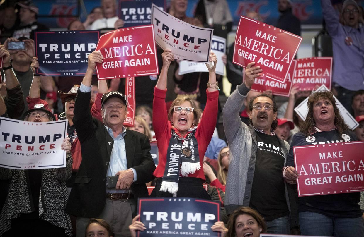 لنجعل أمريكا عظيمة مجددا.. شعار ترامب الانتخابى فى 2016