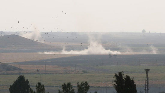 العدوان التركي على الأراضى السورية (5)