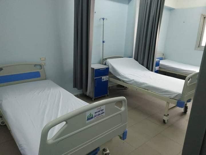 الغرف بمستشفى أبو كبير