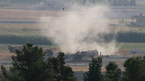 العدوان التركي على الأراضى السورية (6)