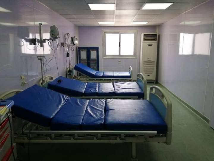 تجهيز الغرف على أعلى مستوى بالمستشفى