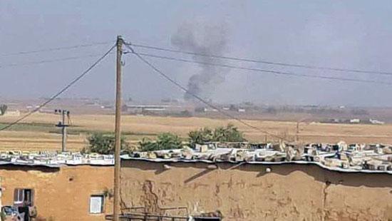 العدوان التركي على الأراضى السورية (8)