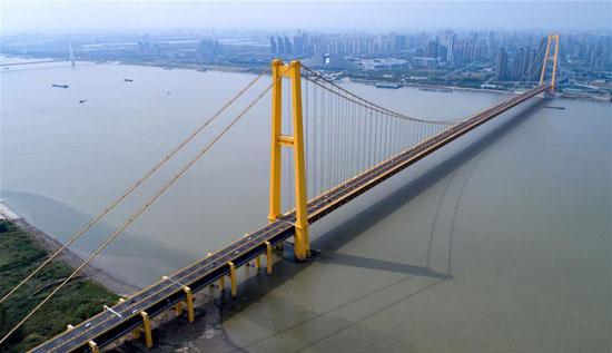 اطول جسر معلق فى العالم