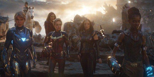 أبطال مارفل من النساء