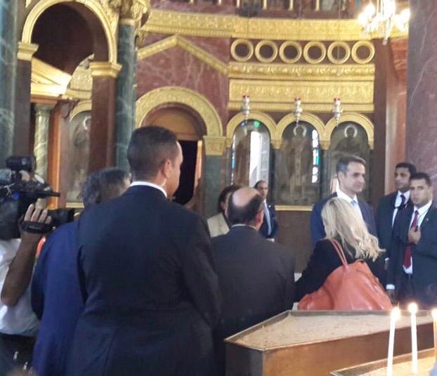 ئيس وزراء اليونان يزور كنيسة مار جرجس  (3)