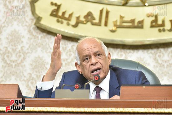رئيس مجلس النواب على عبد العال