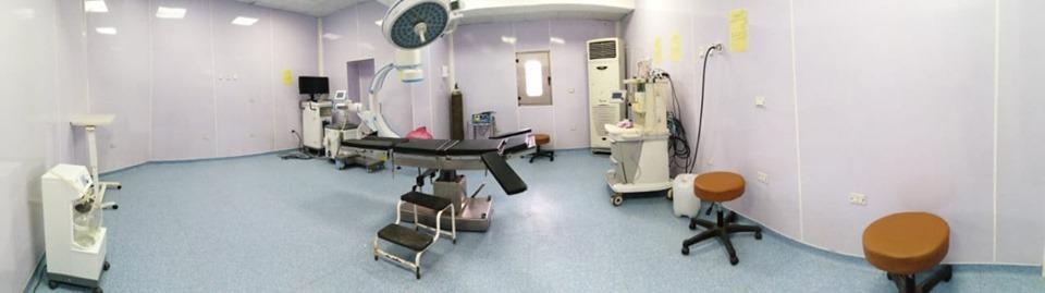 تجهيز غرفة الأشعة