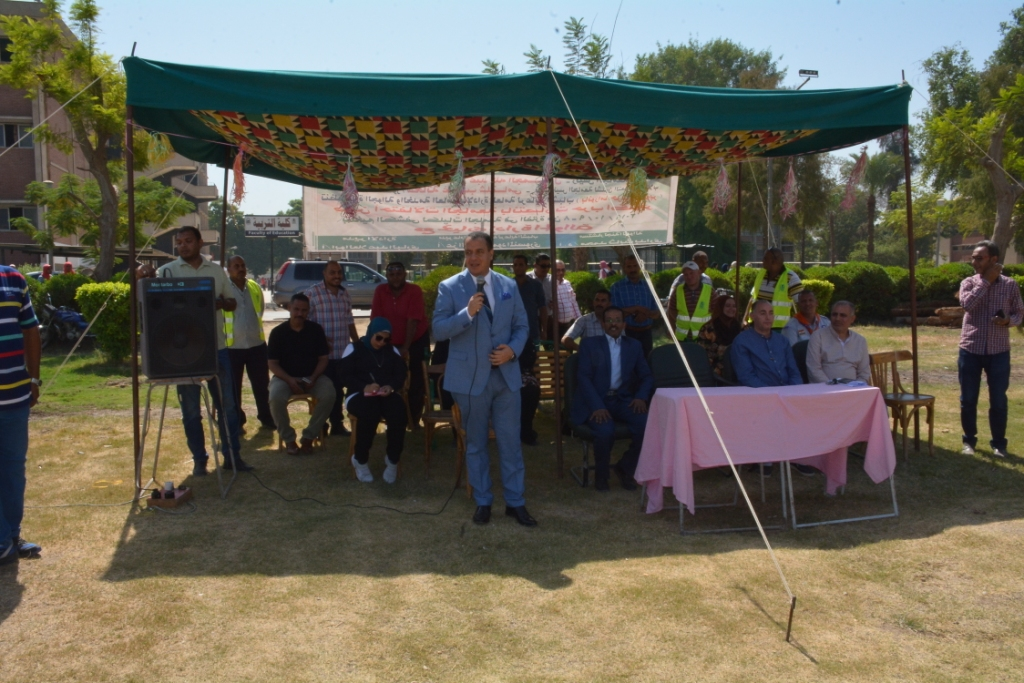 بانوراما حرب أكتوبر فى مخيم كشفى ضمن احتفالات جامعة أسيوط (4)