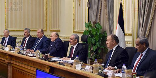 جلسة المباحثات الثنائية بين رئيس الوزراء ونظيره الفلسطينى (4)