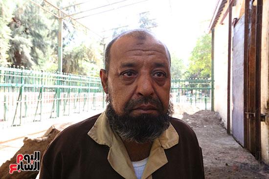 عم محمد يرثى الفيلة نعيمة (1)