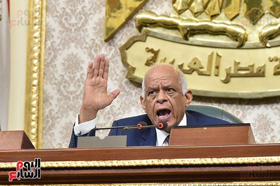 على عبد العال بالجلسة العامة