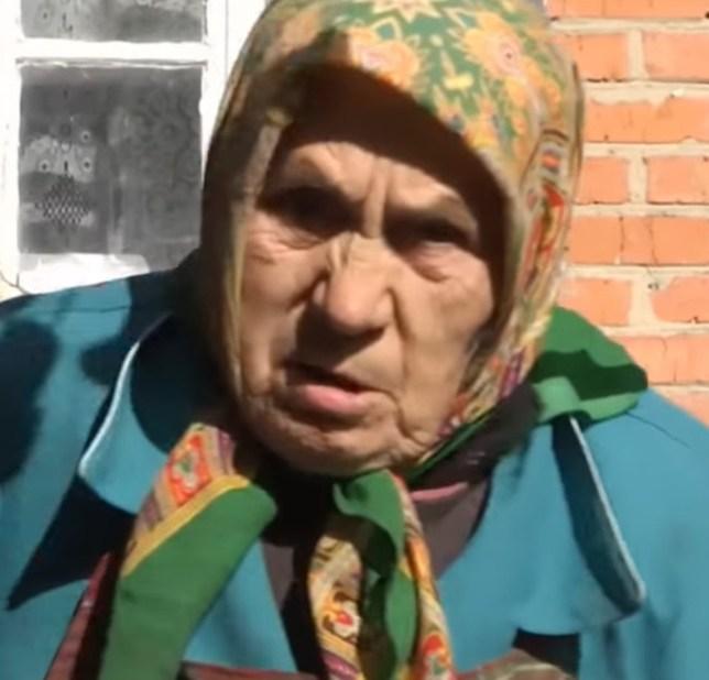 المرأة العجوز