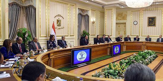 جلسة المباحثات الثنائية بين رئيس الوزراء ونظيره الفلسطينى (5)