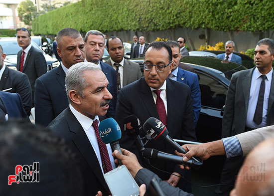 مؤتمر صحفى عقب المباحثات المصرية الفلسطينية  (5)