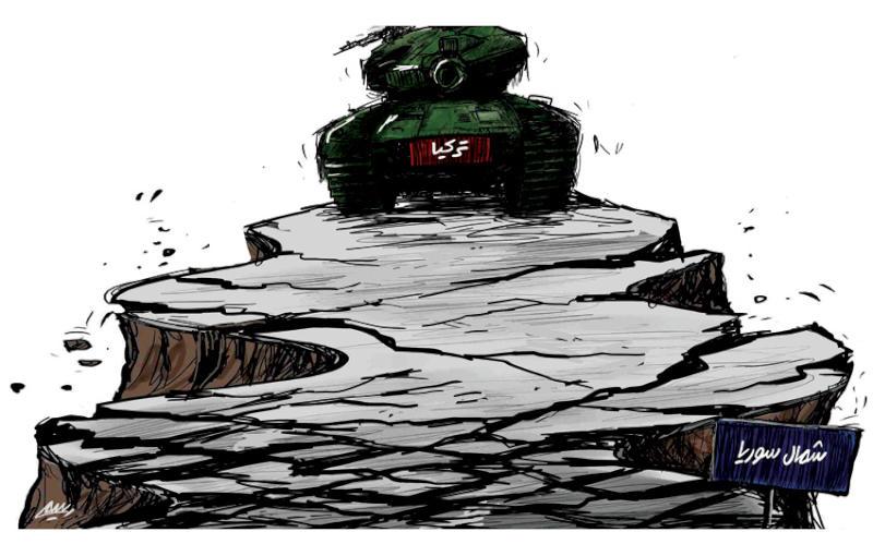 العدوان التركى على سوريا يدمر استقرار البلاد