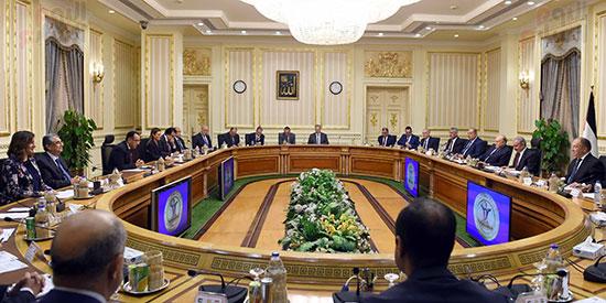 جلسة المباحثات الثنائية بين رئيس الوزراء ونظيره الفلسطينى (3)