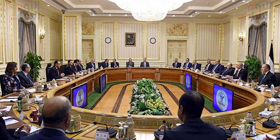 جلسة المباحثات الثنائية بين رئيس الوزراء ونظيره الفلسطينى (2)