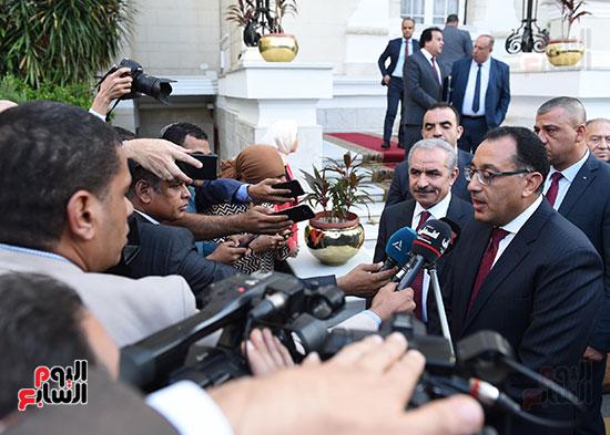 مؤتمر صحفى عقب المباحثات المصرية الفلسطينية  (1)