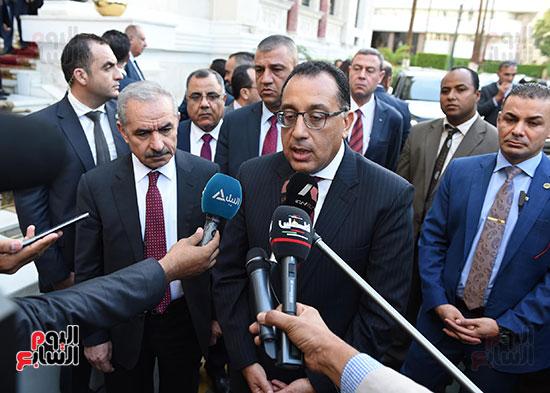 مؤتمر صحفى عقب المباحثات المصرية الفلسطينية  (4)
