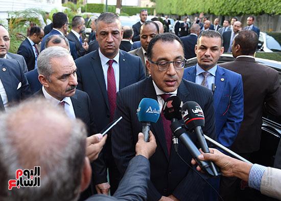 مؤتمر صحفى عقب المباحثات المصرية الفلسطينية  (3)