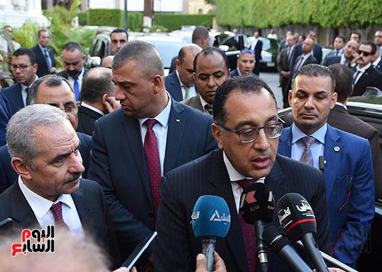 مؤتمر صحفى عقب المباحثات المصرية الفلسطينية  (2)
