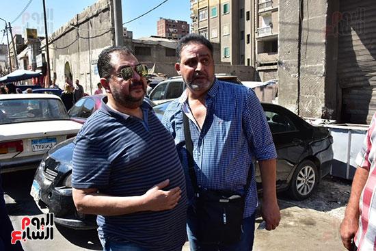 طارق عبد العزيز وأشرف طلبة