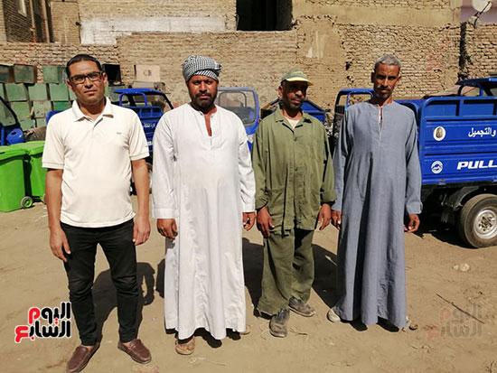 رجال-النظافة-بمحافظة-الأقصر-يقدمون-ملحمة-من-الأمانة-في-خدمة-الأهالي-(4)