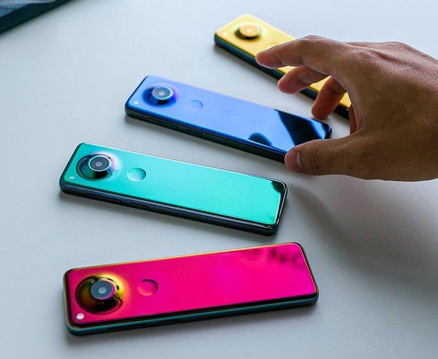ألوان الهاتف