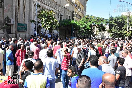 جانب من جنازة طلعت زكريا بالاسكندرية (2)