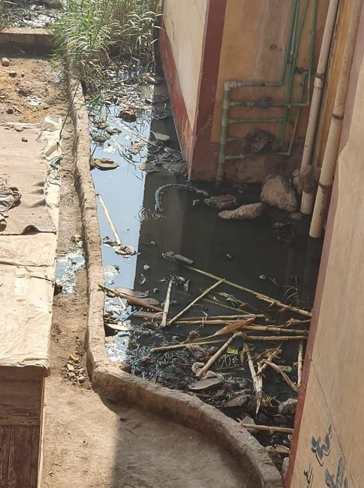 انتشار مياه الصرف الصحى