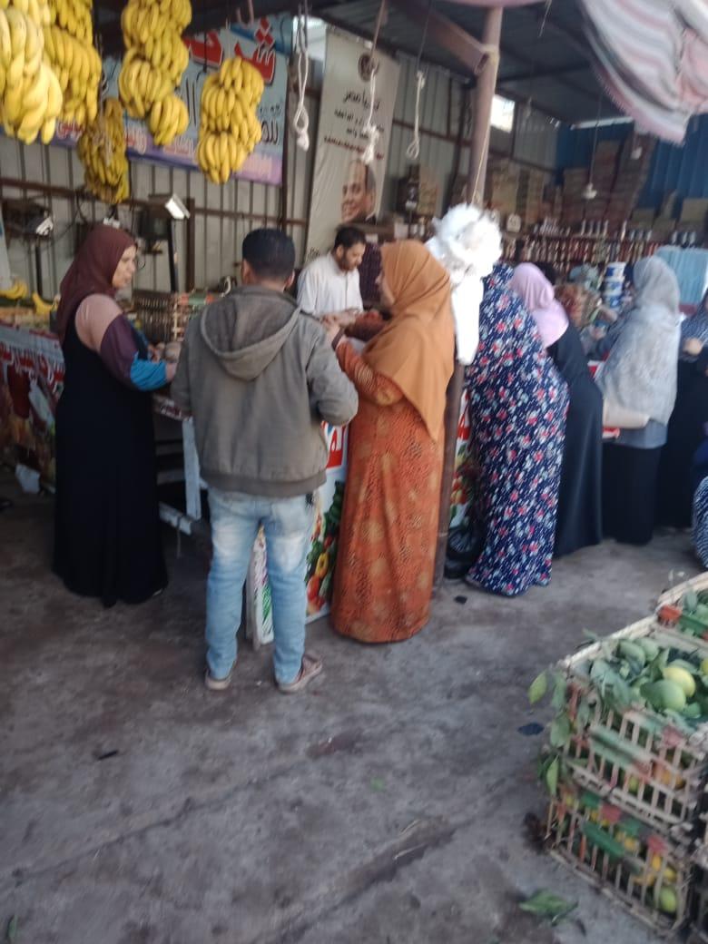 انتعاش بأسواق الخضر والفاكهة بالغربية ورقابة تموينية على الأسعار (7)