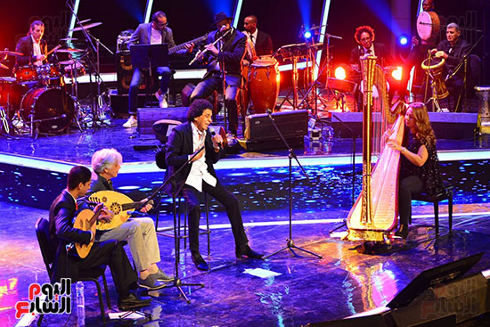 افتتاح مهرجان الموسيقى العربية (3)