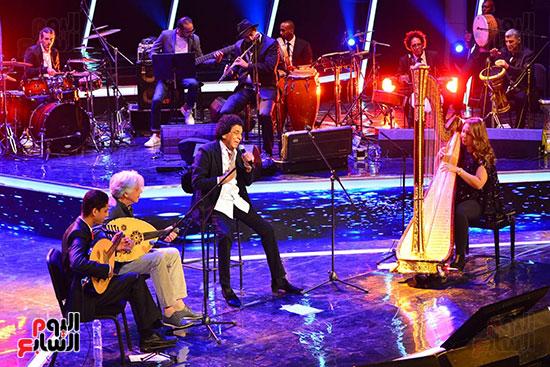افتتاح مهرجان الموسيقى العربية (2)