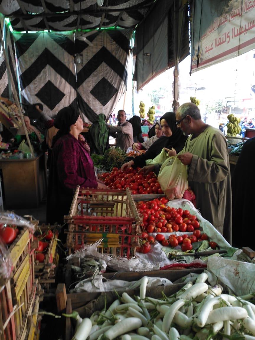 انتعاش بأسواق الخضر والفاكهة بالغربية ورقابة تموينية على الأسعار (3)