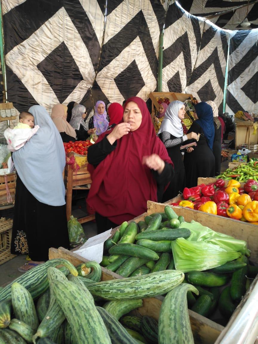 انتعاش بأسواق الخضر والفاكهة بالغربية ورقابة تموينية على الأسعار (2)