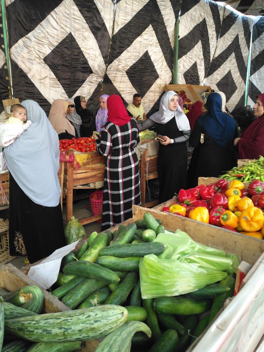انتعاش بأسواق الخضر والفاكهة بالغربية ورقابة تموينية على الأسعار (1)