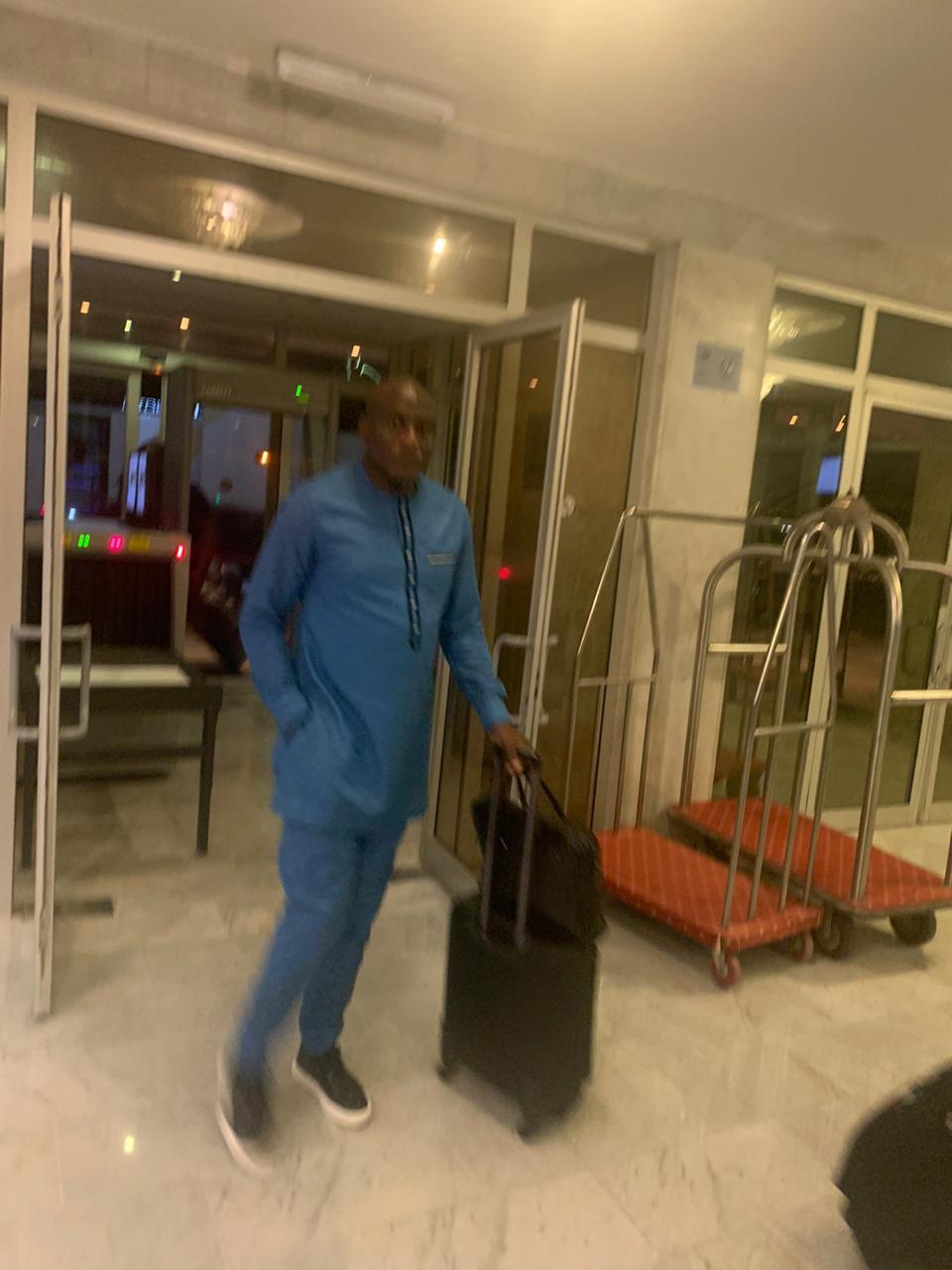وصول بعثة منتخب الكاميرون إلى الإسماعيلية  (4)