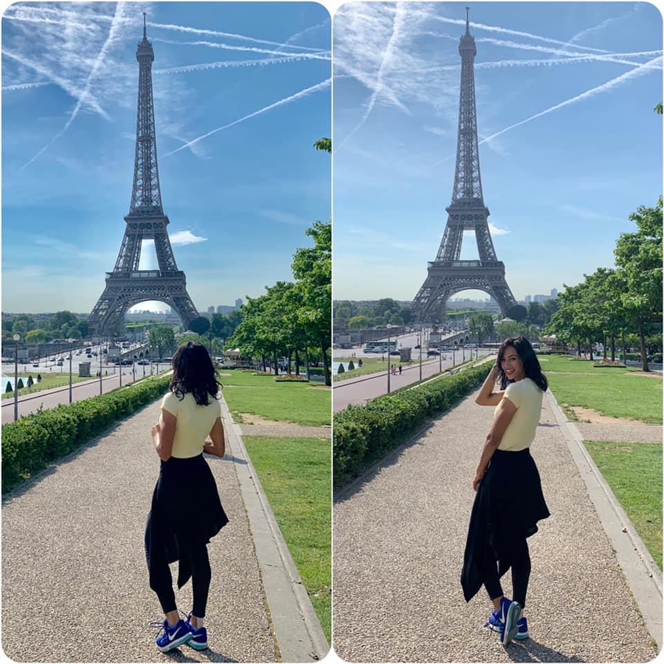 بسنت فى باريس