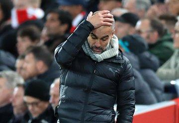 جوارديولا يصب غضبه فى مباراة ليفربول