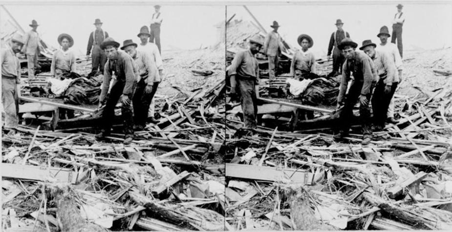 إعصار جالفستون العظيم 1900