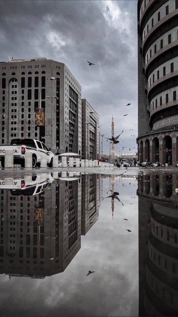 أمطار على المدينة المنورة