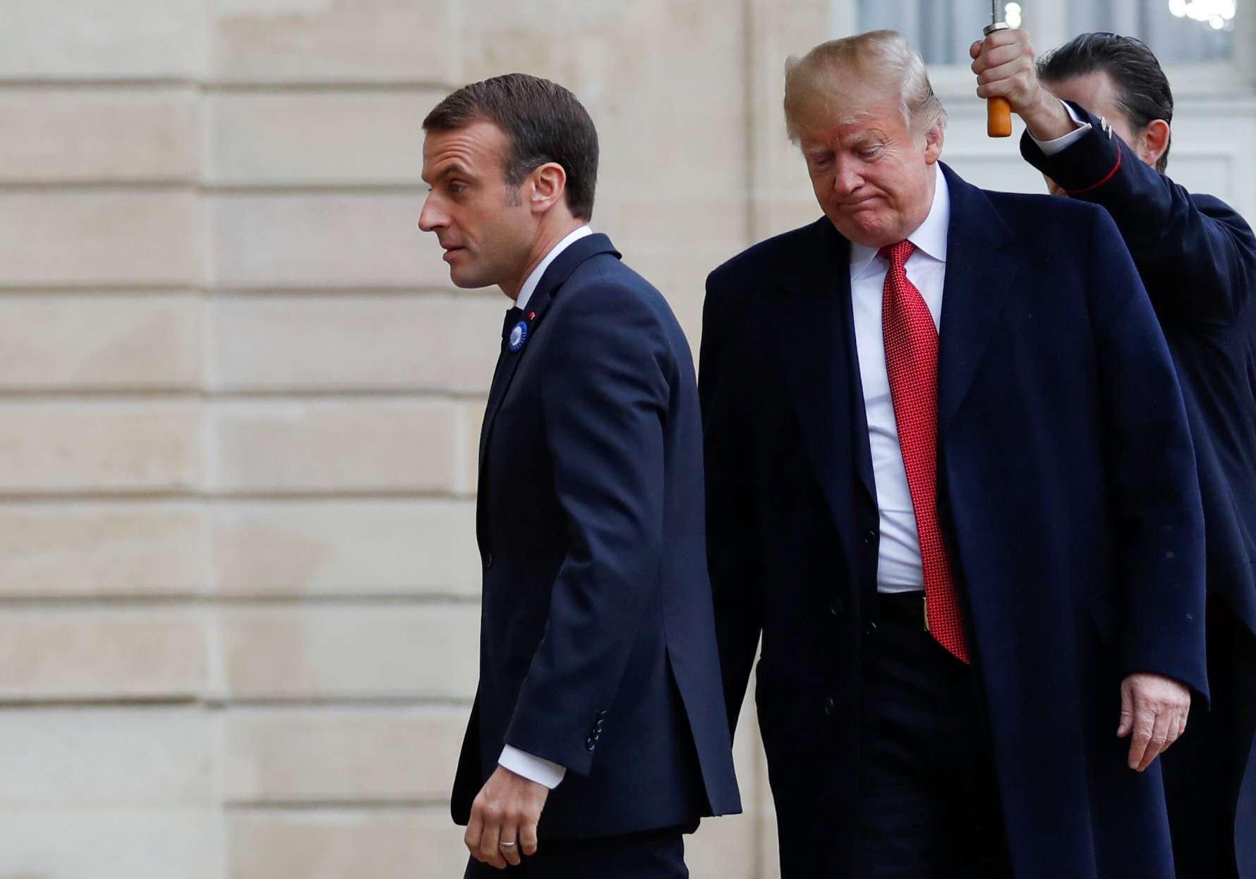 ماكرون يسعى لتقويض القيادة الأمريكية للغرب عبر الناتو