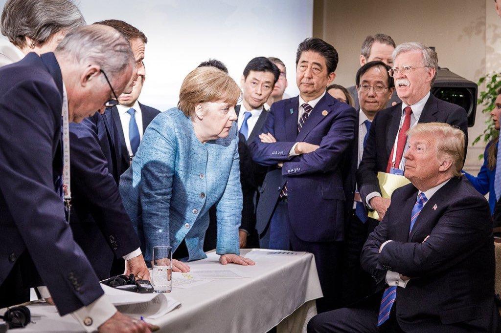 ميركل تسعى لإنهاء التوتر مع ترامب على حساب الاتحاد الأوروبى