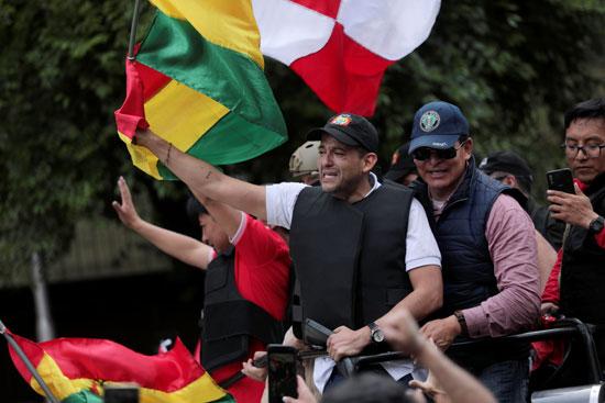 الاحتفالات تعم شوارع بوليفيا