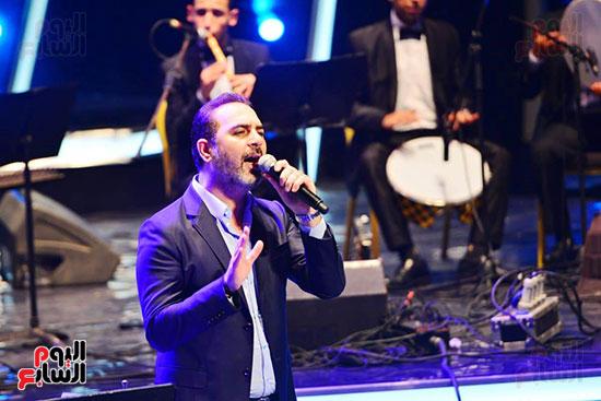 وائل جسار يطرب جمهور مهرجان الموسيقى العربية