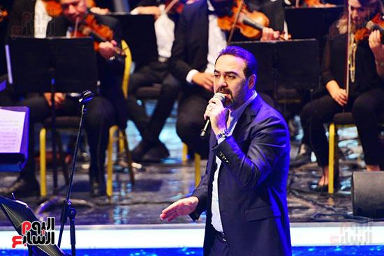 وائل جسار يتألق فى حفله بمهرجان الموسيقى العربية