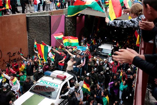الاحتفالات فى بوليفيا