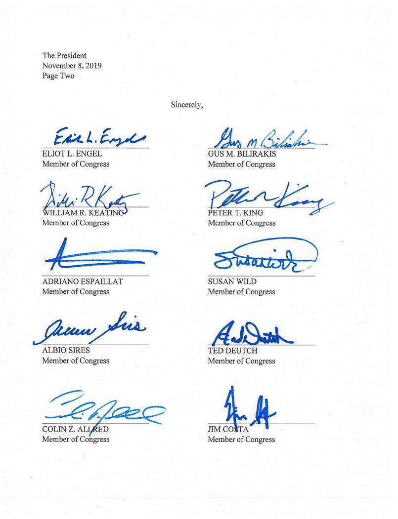 التوقيعات