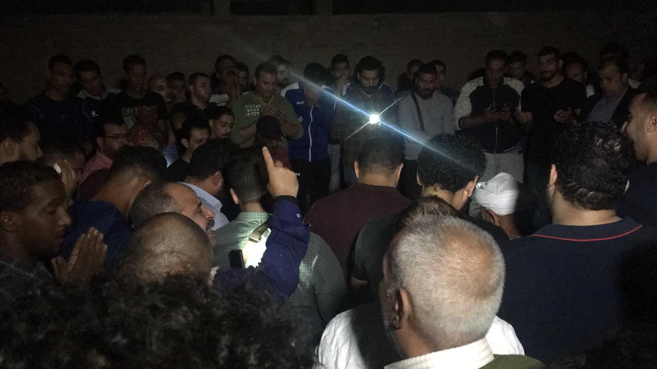 تشييع جثمان علاء علي